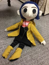 Coraline Doll (for sale) by Coraline12345