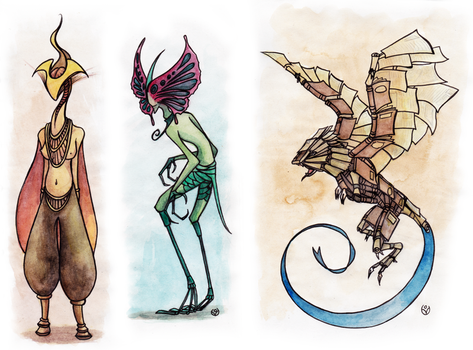 The book of Monsters - April 3, 2014 by JohannesVIII