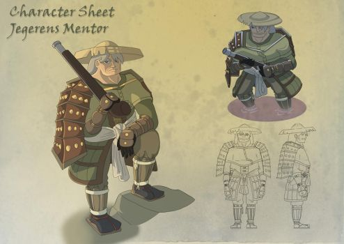 Character Sheet-Huntsmans Mentor (Edit) by zaraki08