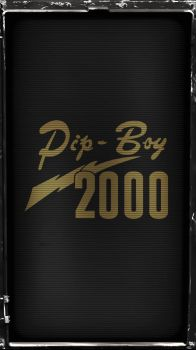 Pipboy 2000 Stealth (Amber) by sitrirokoia