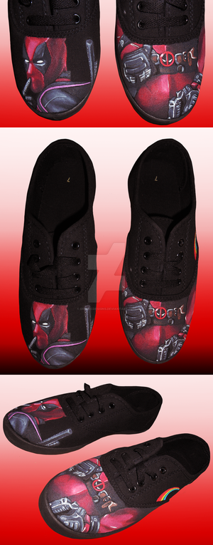 b666e488aa7a Check out these fully customizable hand-painted shoes! Offering DC