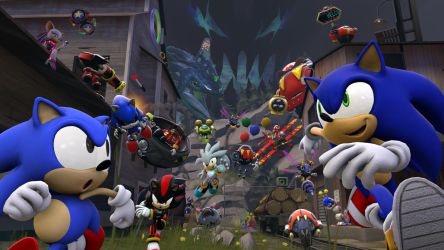 [SFM Poster] Sonic Generations by Hypo-Thermic
