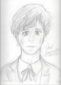.:Newt Scamander:. by Sartisian