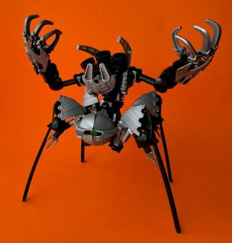 Bionicle MOC: Overseer (Updated) by LordObliviontheGreat