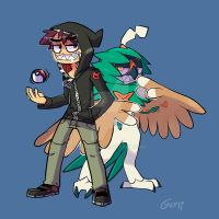 Gerph and Decidueye are ready for battle!