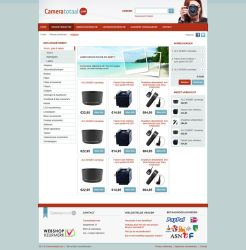 Photography Webshop Layout by Robke22