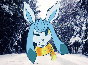 Glaceon for Cinder444 by Mika352