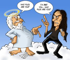Ronnie James Dio by MasterLudus
