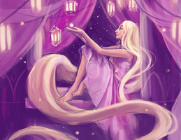 Rapunzel by skybrush