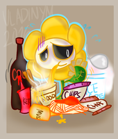 Stress Eating by Vladinym
