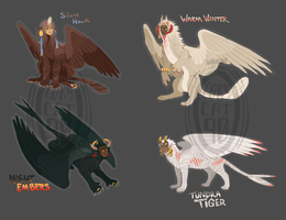Adopts - Pixel Sphinxes [0/4] by corycatte