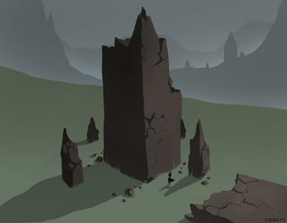 the tower [6/27/14] by Skelefrog