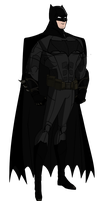 JLU Batman JL movie suit by Alexbadass