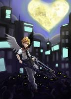Kingdom Hearts - Into the Darkness by MelodicPaper