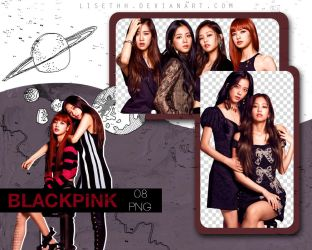 PACK PNG #14 // BLACKPINK by Lisethh