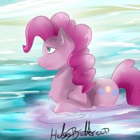 My little pony - Pinkie Pie by HelgaButtercup