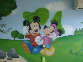 mickey and minie by Theatricalarts