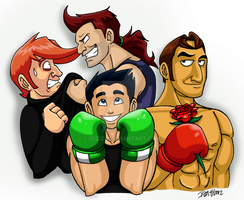 My Punch-Out Faves by IzIzIza