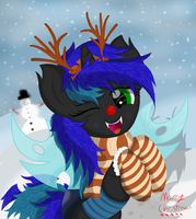 Happy Hoildays Everpony! ^^ by Law44444