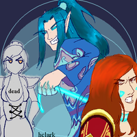 Malygos and his ladies by hclark
