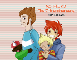 seventh Anniversary! by riceter