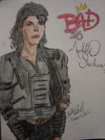 BAD 25 Michael Jackson by spidyphan2