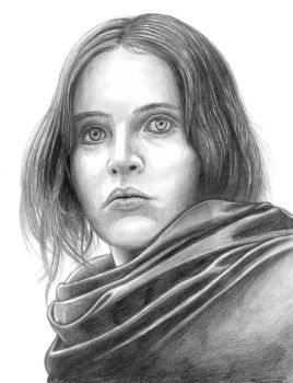 Jyn Erso (Rogue One) by SoulStryder210
