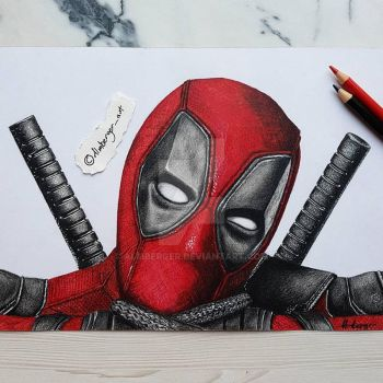 deadpool by almberger