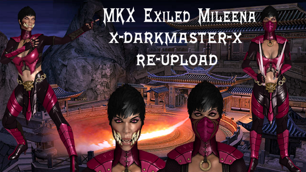Xnalara Model- MKX Exiled Mileena by Cold-Clux