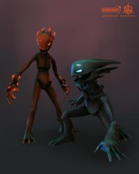 Darkout game art: Imps by JeroenBackx