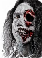 Slayer - Tom Araya by Shamaanita