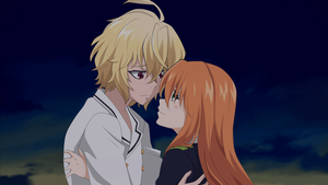 [OnS - OC Animation Kiss] Mika and Yasu by Veihnel