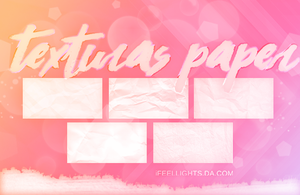 +Texturas paper by iFeelLights