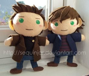 Little Winchesters by sequinjar