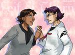 Cute handholding action by ErinPtah