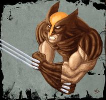 Wolverine speed paint by trantsiss
