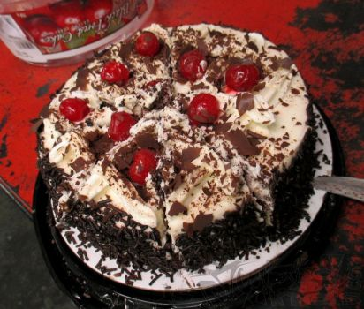 Black Forest Cherry Cake by ThisIsTwistedMinds