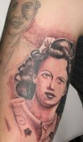 Portrait of his mother.. by catbones