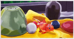 Still Life With Koi by Daniel-Storm