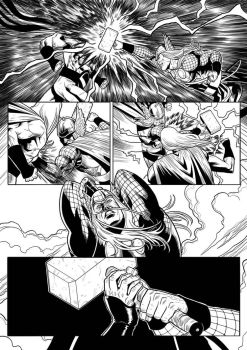 Sentry Returns page 5 Inks by mikemaluk