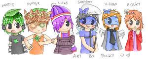 friends - group picture by procrasinating-pocky
