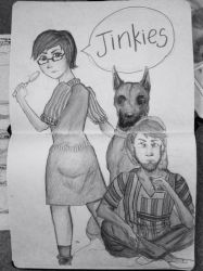 Velma and Shaggy by Stardust-on-my-mind