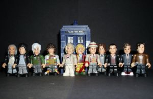 CB 11 Doctors 'Mini-Figures' by CyberDrone