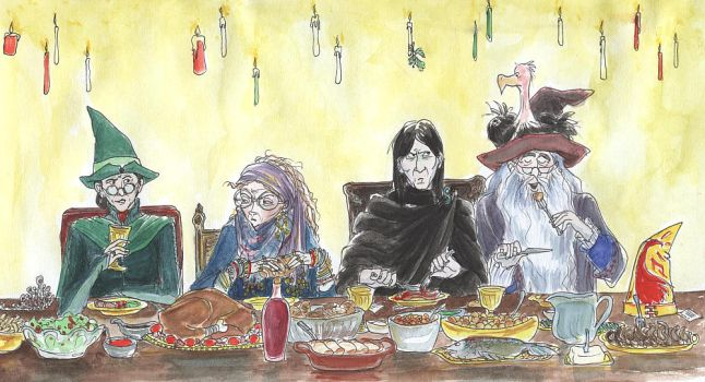 a hogwarts christmas by gerre