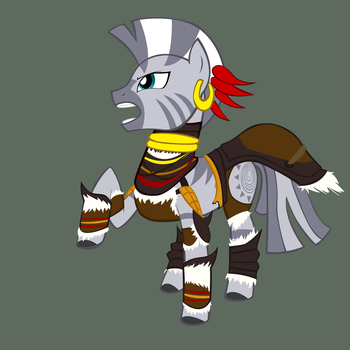 Witch Doctor Zecora by Mxc725