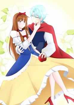 CM : Snow White and Prince Charming by TrainerAshandRed35