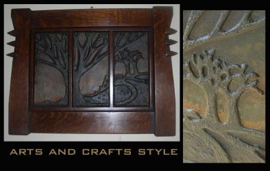 Tree of Life Tile Triptych by danwalters