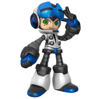 Mighty No.9: Beck Render by Nibroc-Rock
