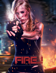 Fire Poster by JUSTMEPEACE