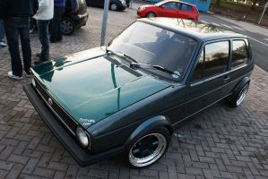 mk1 golf at vw meet by koosh-m